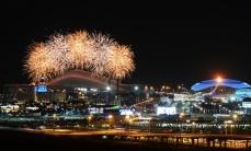 xi Паралимпийские зимние игры в Сочи  Церемония закрытия зимних Паралимпийских игр в Сочи завершилась на стадионе Фишт под девизом Достигая невозможного